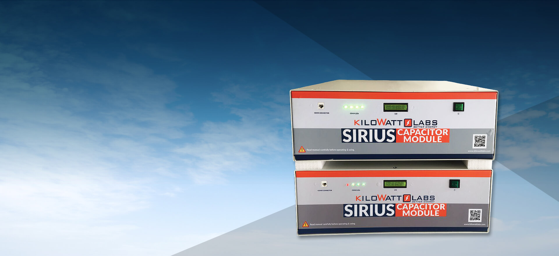 STORAGE - SIRIUS SUPERCAPACITOR • New Earth Energy